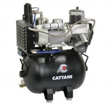 Компрессор Cattani для cad/cam систем. 165л/мин при 8 атм