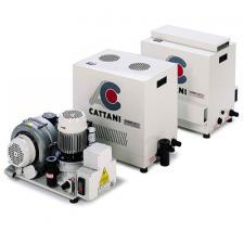 Cattani Turbo-Jet 2 - аспиратор стоматологический без кожуха для влажной аспирации на 2 установки, до 10 м