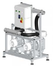 Cattani Maxi-Jet 2S х 2 - аспиратор стоматологический на 40 установок, до 45 м