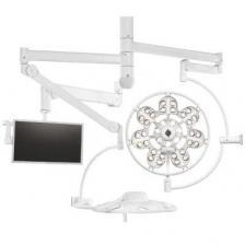 Светильник двухкупольный потолочный Эмалед 500/500/X