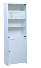 Шкаф медицинский (ШМС-1-Т) ШМС-1 с трейзером