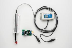LEDактив 01П 24В с выносным пультом управления встраиваемый в стоматологическую установку, светодиодная лампа для полимеризации