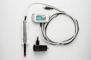 LEDактив-05П 24 В встраиваемая в стоматологическую установку с выносным пультом управления, светодиодная лампа с четырехцветным световым излучением