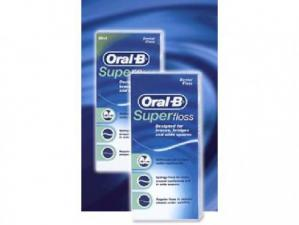 З-нить Oral-B Super Floss 50шт